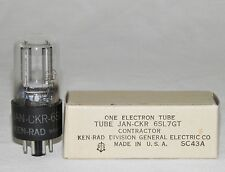 KEN-RAD 6SL7GT Vacuum ELECTRON TUBE Vintage NOS New Old Stock MILITARY GRADE