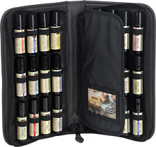 Roll On Super Set Carrying Case Includes 24-10 ml Pure Essential Oil Roll Ons