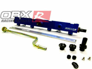 OBX Blue Fuel Injection Rail For 02-06 Acura RSX Type-S  / 02-04 Civic Si K20A