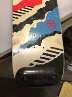 Vintage skateboard Brand X deck  trucks old-school ( powell dogtown Sims alva