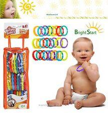 Commence lumineux Lots O liens - 24pc dentition voyage Landau de bébé reliant jouets - 0 m +