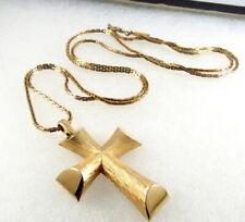 Vitnage Avon Cross Pendant Necklace Signed