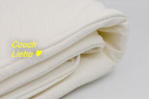 IKEA Bezug, Husse f. Backabro 3er Bettsofa Schlafsofa in Hylte weiß, Couch, Sofa