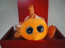 Ty Beanie Boos SAMI the fish - MEDIUM 9 INCH NWMT - approx 25cms