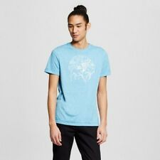 Mossimo Baby Blue Buffalo Graphic T-Shirt - Size M - NEW with Tags
