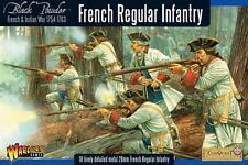 Warlord Games French Indian War French Regular Infantry 28mm Scale WG7-FIW-03