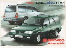 Polonez Kombi 1,6 MPI car (made in Poland by Daewoo-FSO)_1999 Prospekt Brochure