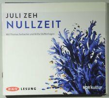 Juli Zeh Nullzeit gelesen von Thomas Sarbacher Britta Steffenhagen 4 CDs
