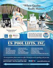 ADA Certified Pool Lift, US Pool Lifts' Model #114