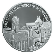 20 Zl POLEN 2007 Silber Monuments of Material Culture in Poland - Medieval Town
