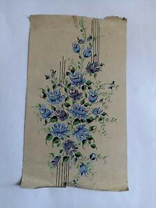 Hand made print design fabric printing textile design artwork