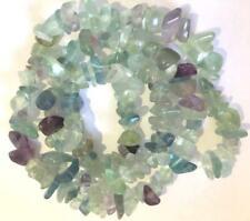 "4-7mm fluorite loose beads strand gemstones Diy jewelry freeform#16"""
