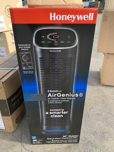 New! Honeywell AirGenius 6 Bluetooth Smart Air Purifier HFD360
