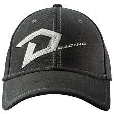 Drift Racing D Logo Cotton Baseball Style Hat Cap - Gray - 5265-505