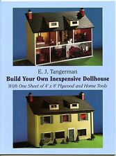Build Your Own Inexpensive Dollhouse from Plywood & Hand Tools - Dover Booklet