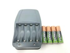 Duracell Rechargeable Batteries & Charger