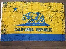 CA Flag California Blue and Gold UCLA Flags State Flag 3x5 ft Bear free shipping