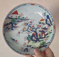 Belle assiette porcelaine Chine Art d'asie Compagnie des Indes décor maison