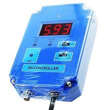 Digital pH Controller Meter Monitor Tester Replaceable BNC Electrode 110V / 220V