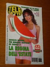 TELESETTE 1996/31=MIRIANA TREVISAN=JULIANO CAVICCHI=NINO FRASSICA=PAOLO LIMITI=
