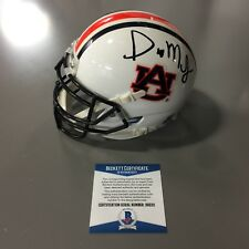 Gus Malzahn Signed Auburn Tigers Schutt Authentic Mini Helmet Beckett Coa D92211