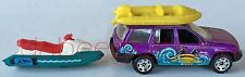 Matchbox - Watercraft-1998 Mattel / Jeep Grand Cherokee-1999 Mattel -2 Die-Cast