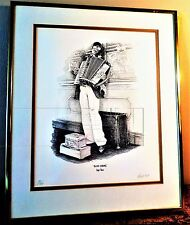 SOUTH AFRICAN ART: PEN AND INK DRAWINGS THE CAPE TOWN HAWKERS by MARK MIDGELY