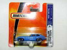 Matchbox Superfast 2007 No 6 '61 Jaguar E-Type Coupe MBX Metal MIB