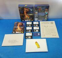 """JUEGO PC CAJA GRANDE ESPAÑOL MANUAL CARTAS DISCO 3.5""""  - SHADOW OF THE COMET"""