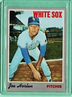 1970 TOPPS Baseball #35 Joe Harlen White Sox ExMt-NrMt