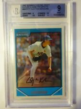 2007 Bowman Draft Future's Game Prospects #BDPP77 Clayton Kershaw. BGS 9.0