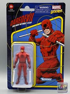 "NEW 2021 Marvel Legends Retro Series DAREDEVIL 3.75"" Vintage Kenner Hasbro"