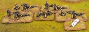 Battlefront FoW WWII German 15mm Machine-Gun Platoon (Fallschirmjager) Pack New