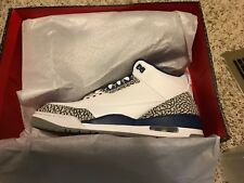 "Nike Air Jordan 3 Retro OG ""True Blue"" 854262-106 Size 10.5"