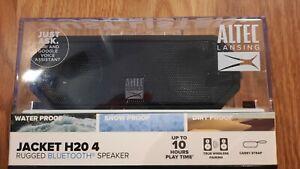 Altec Lansing Jacket H20 4 Rugged Bluetooth Speaker Black