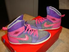 Air Jordan 602656-509 Pink & Purple Size 6Y