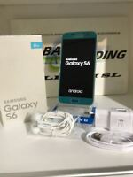 TELEFONO MOVIL SAMSUNG GALAXY S6 G920F 32GB AZUL TOPACIO GRADO A PERFECTO ESTADO