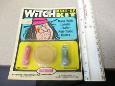 Bayshore 1960s Halloween makeup kit MOC vintage monster scary WITCH #2