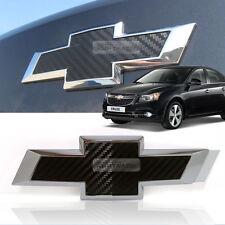 Genuine Parts Rear Trunk Emblem Logo Carbon Badge for CHEVROLET 2008-2014 Cruze