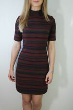 Topshop Short Sleeve Casual Spotted Dresses for Women