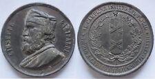medaglia a ricordo della morte di Giuseppe Garibaldi 1982 incisore giorgi