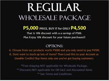 Be our Reseller ♥ Wholesale: REGULAR PACKAGE, Enjoy 10% discount