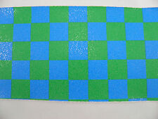 SCOOTER GRIP TAPE BLUE/GREEN CHECK- FIT MADD GEAR & RAZOR
