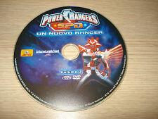 DVD VOL 2 POWER RANGERS S.P.D. SPD UN NUOVO RANGER SOLO DISCO