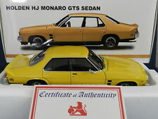 Biante 1/18 Holden Monaro HJ GTS Sedan Absinth Yellow L/E MiB