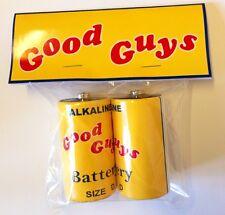 Chucky Childs Play Good Guy Doll Batteries Halloween Prop Replica