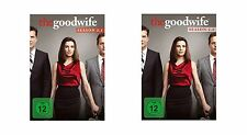 6 DVDs  * THE GOOD WIFE - STAFFEL / SEASON 2 ( 2.1 + 2.2 ) IM SET # NEU OVP =