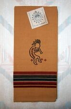 Kokopelli Tea Towel Sedona Kokopelli Pattern Kay Dee Embroidered