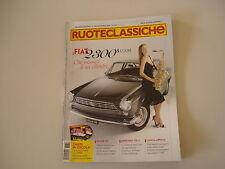 RUOTECLASSICHE 11/2008 FIAT 2300 S/MERCEDES 170 V/PIAGGIO APE C/LANCIA APRILIA