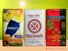 Yerba Mate - Variety Pack - 3 LBS - Rosamonte - Amanda - Taragui -  Free Ship